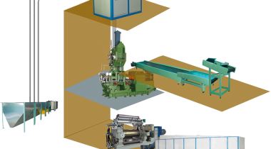Rubber Products Production Line with Banbury