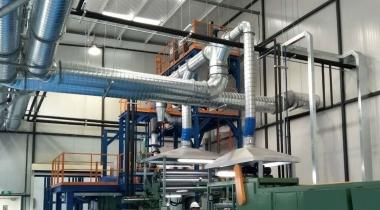 密炼生产线集尘系统
