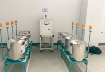 Small chemical off-line manual scale